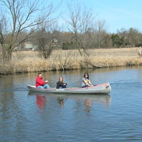Canoeing on the Pecatonica River